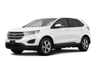 2016 Ford Edge SUV White Platinum Metallic Tri